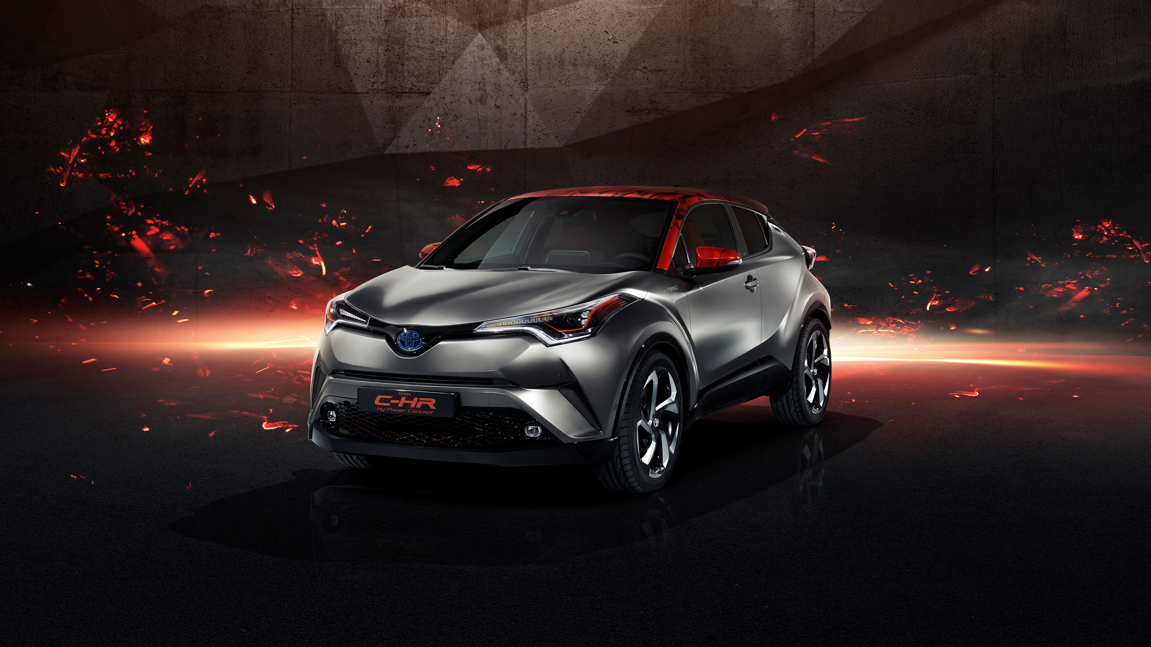 Toyota C Hr Hy Power Concept 4k Wallpaper Hd Car