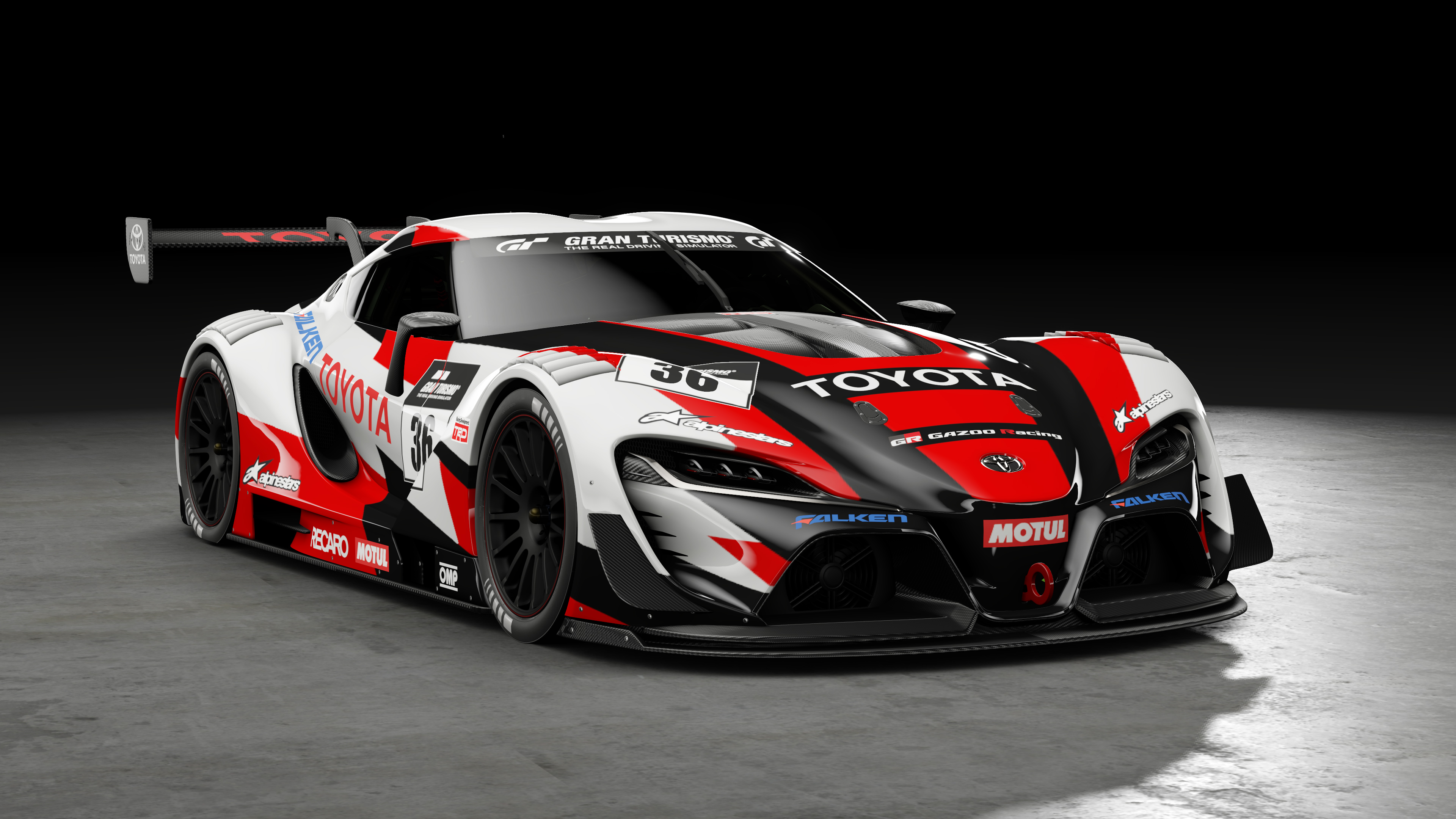 Toyota FT 1 Vision GT Gran Turismo 4K