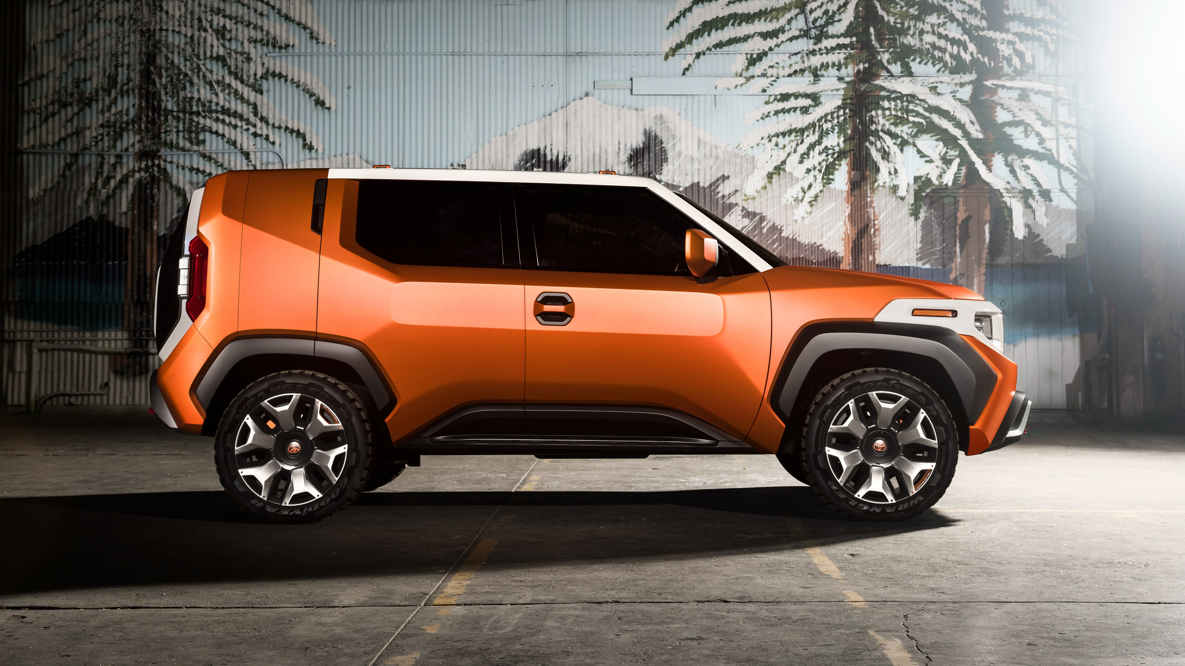 Toyota FT 4X Concept SUV 4K Wallpaper   HD Car Wallpapers ...