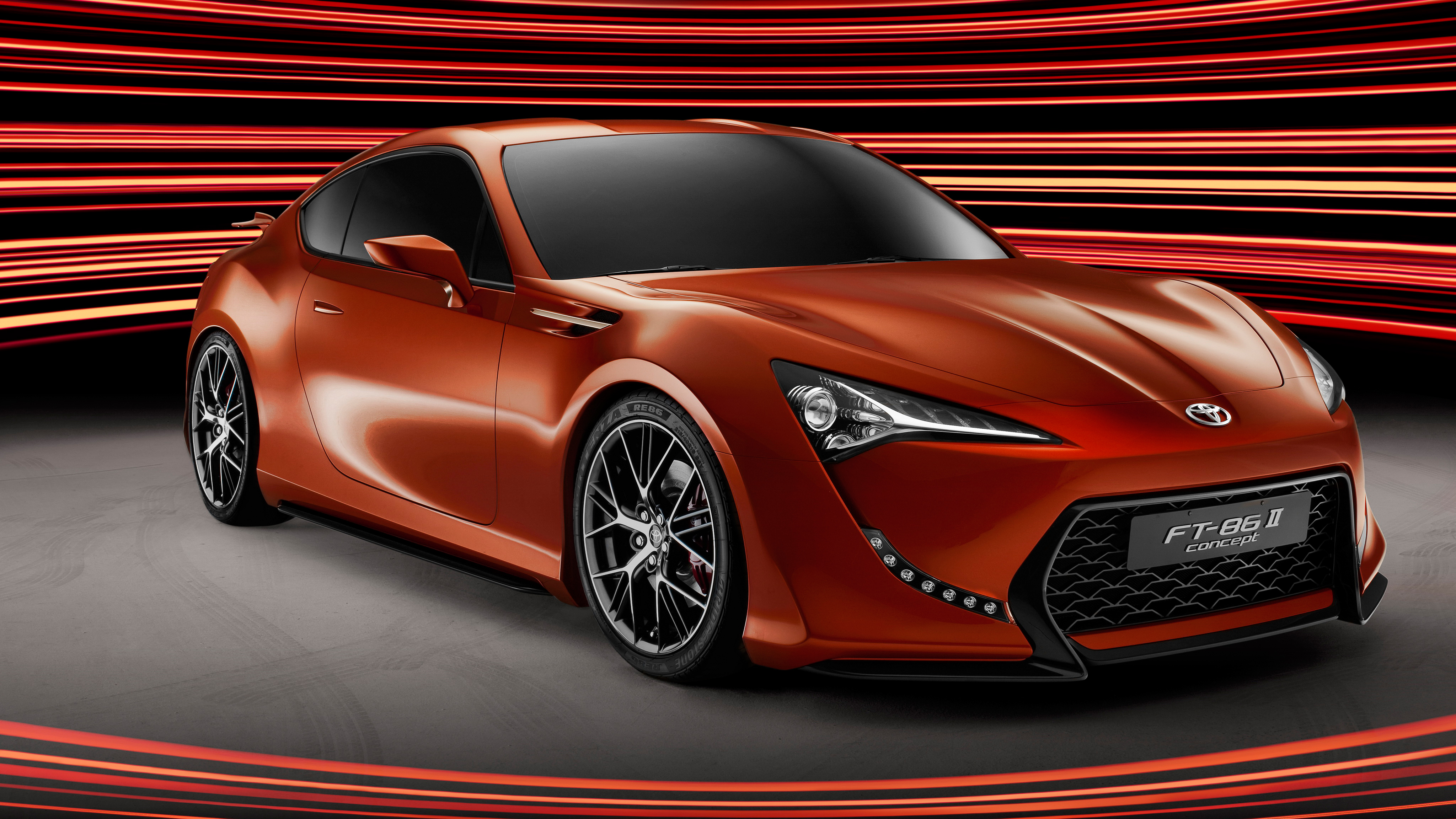 toyota 86 4k ft concept ii hd wallpapers