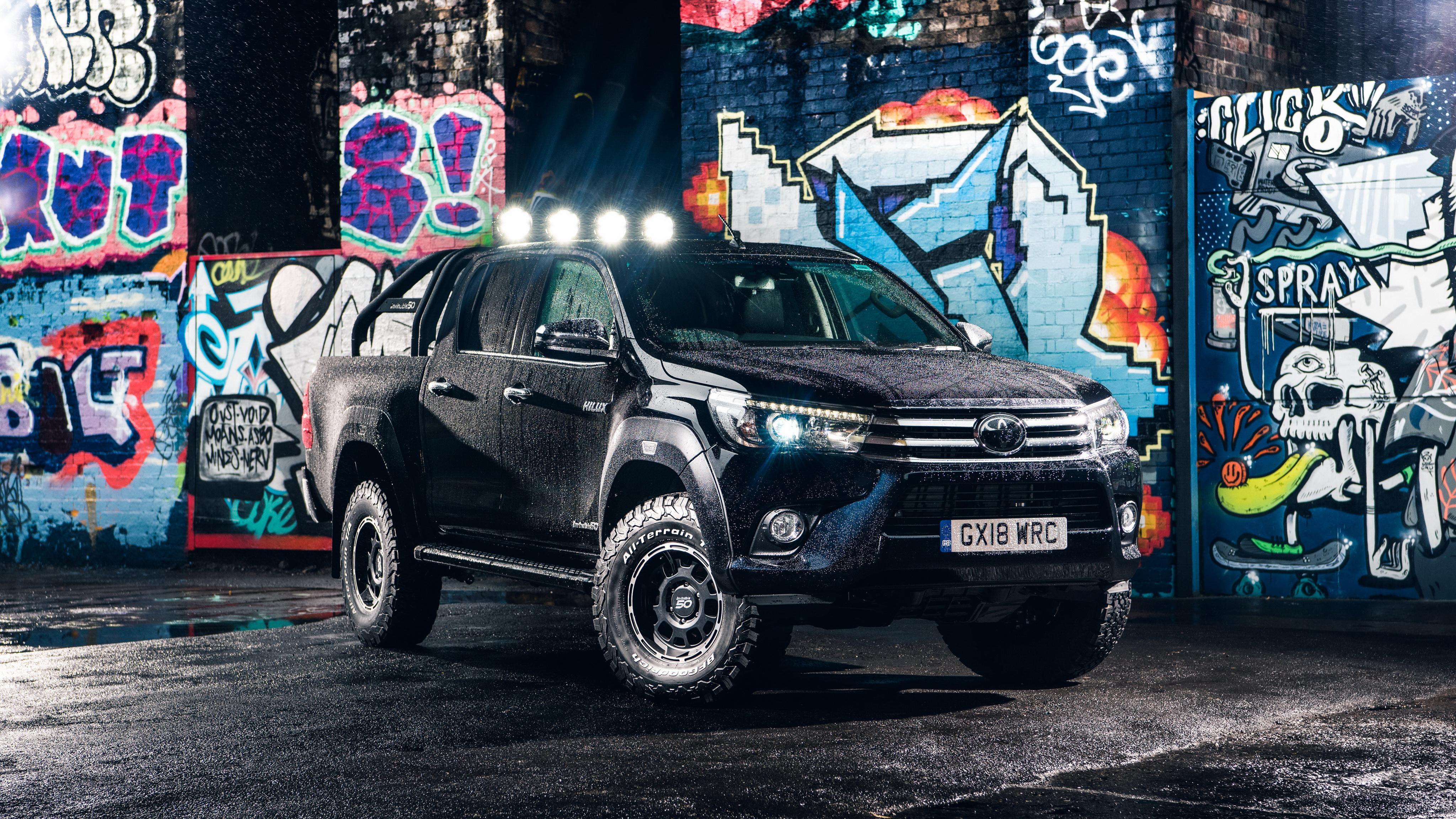 Toyota Hilux Invincible 50 Double Cab By Arctic Trucks 4k Wallpaper