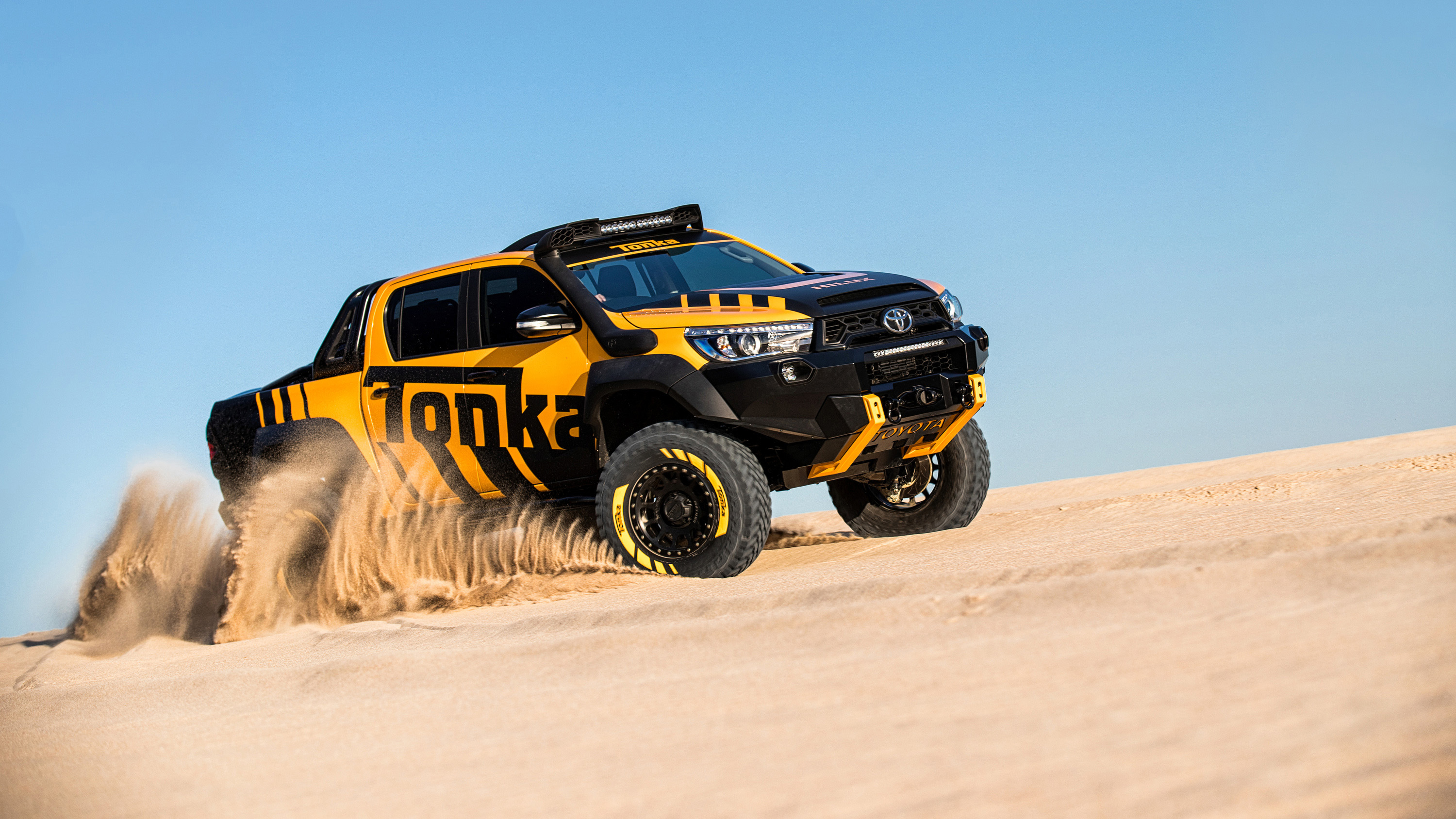 Toyota Hilux Tonka Concept Off Road Wallpaper Hd Car