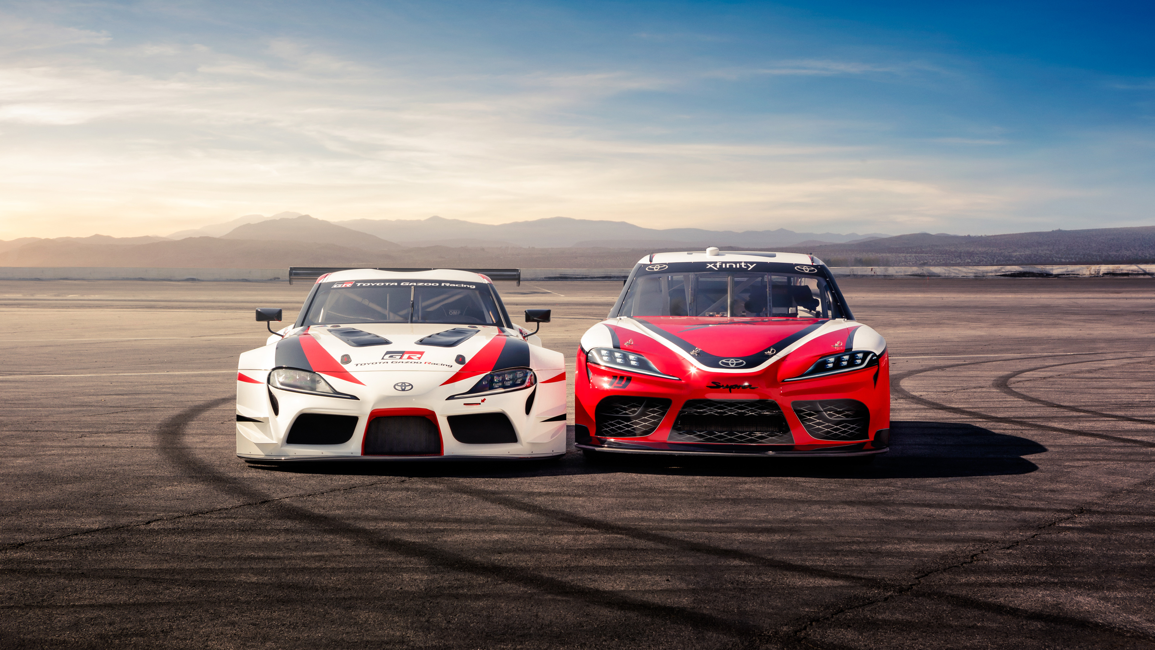 Toyota Supra 2018 4K 3 Wallpaper