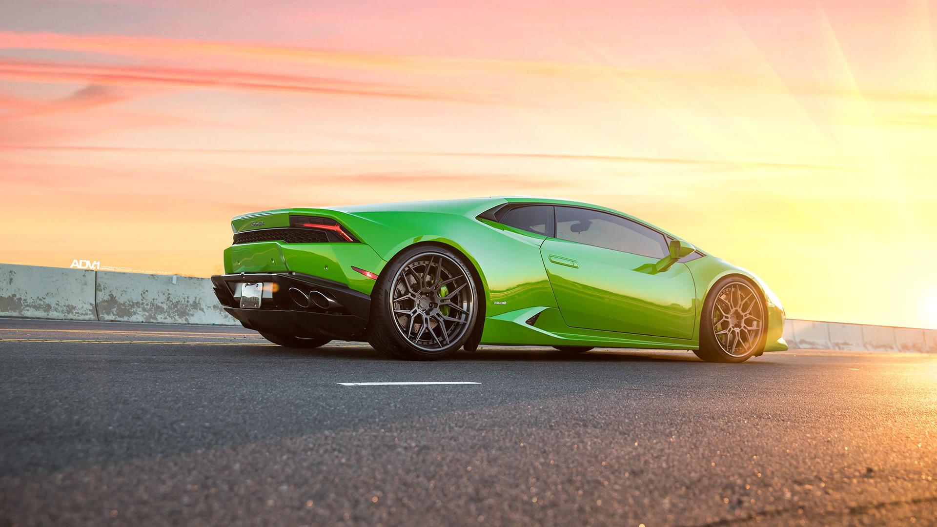 Verde Mantis Green Lamborghini Huracan Lp610 4 2 Wallpaper