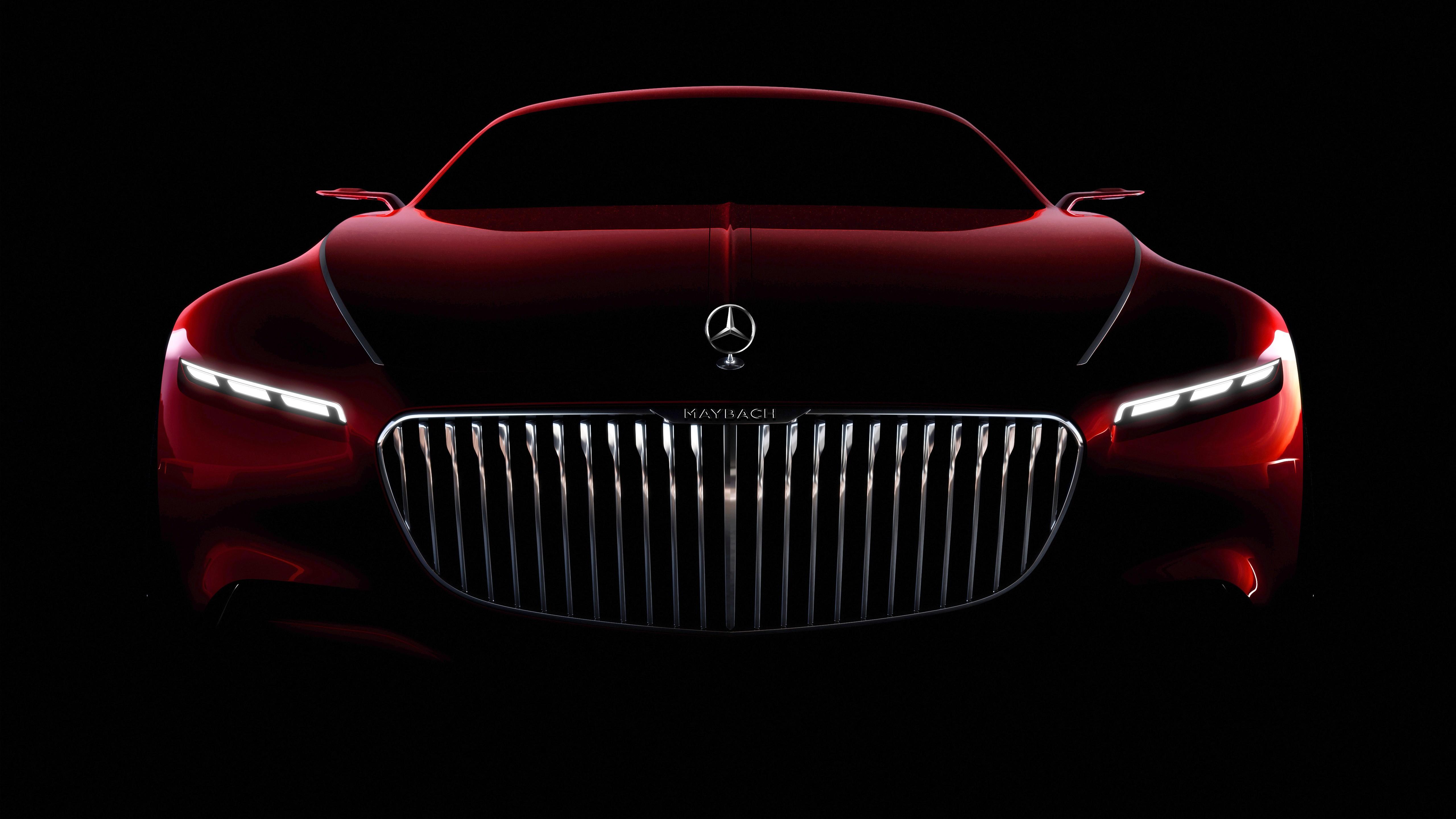 Vision Mercedes Maybach 6 Coupe 5k Wallpaper Hd Car