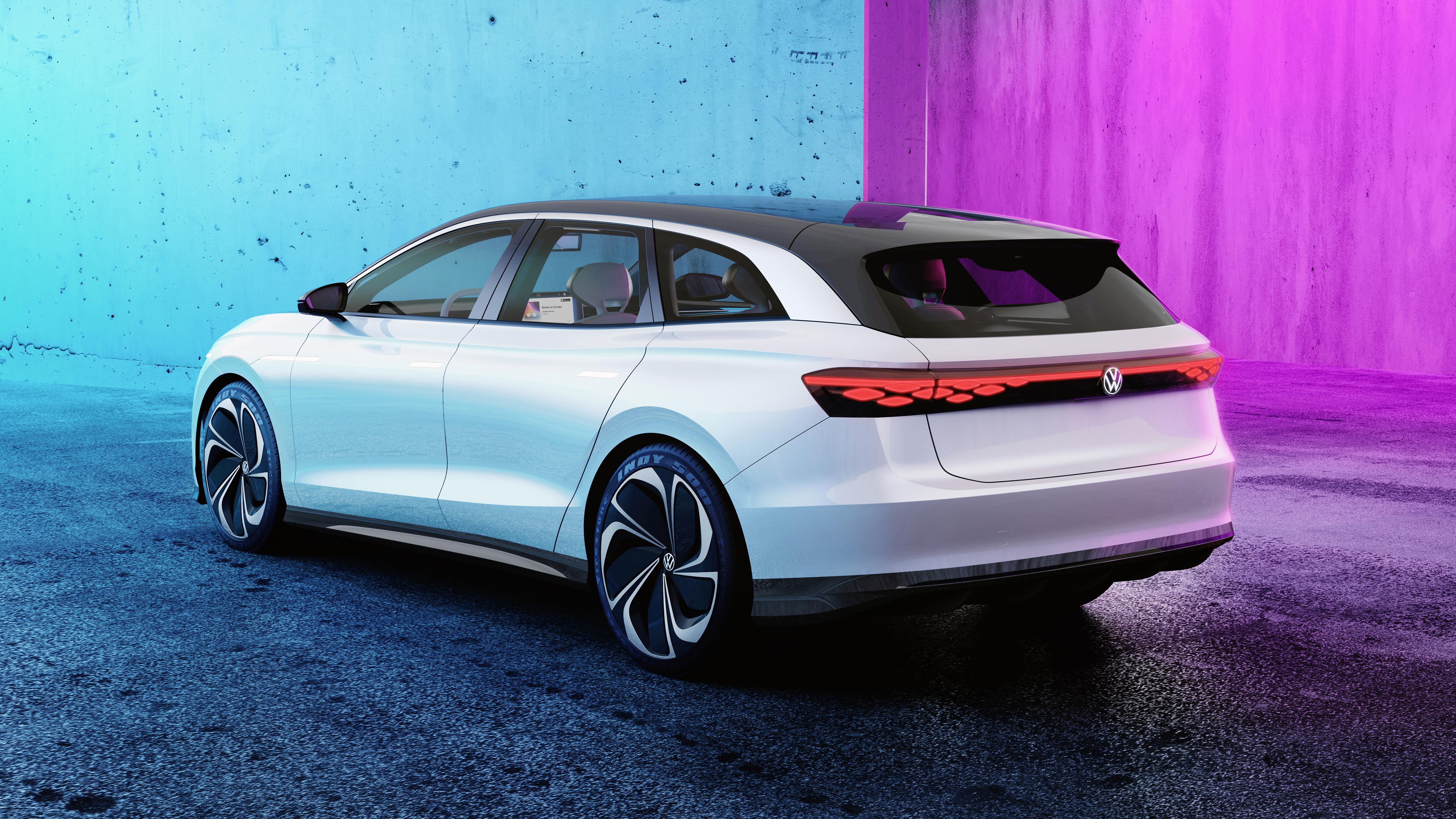 Volkswagen ID Space Vizzion 2019 4K 5 Wallpaper   HD Car ...