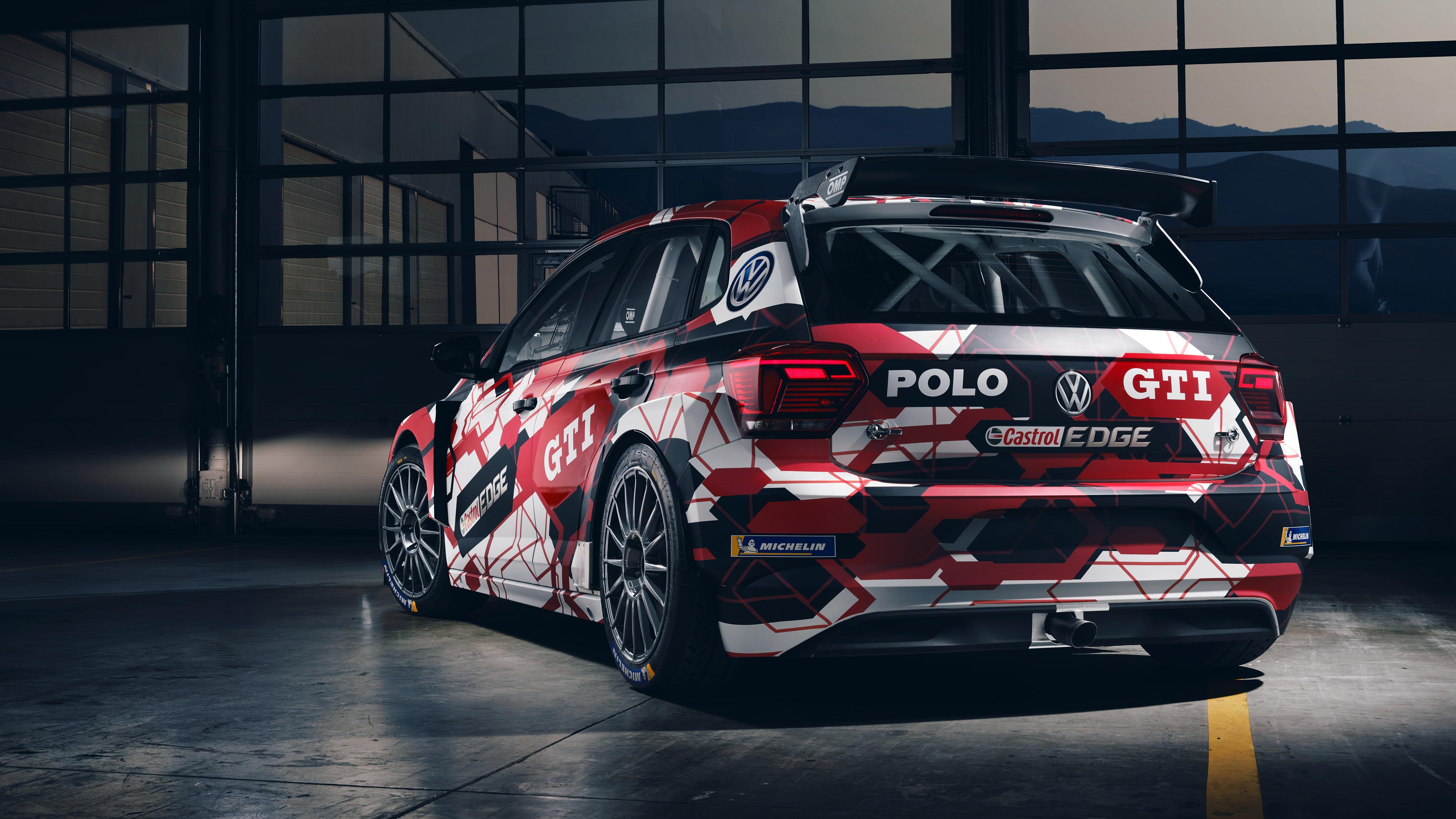 Volkswagen Polo Gti R5 4k 2 Wallpaper Hd Car Wallpapers Id 11314
