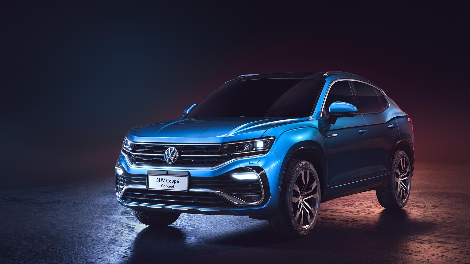 Volkswagen Suv Coupe Concept 2019 Wallpaper