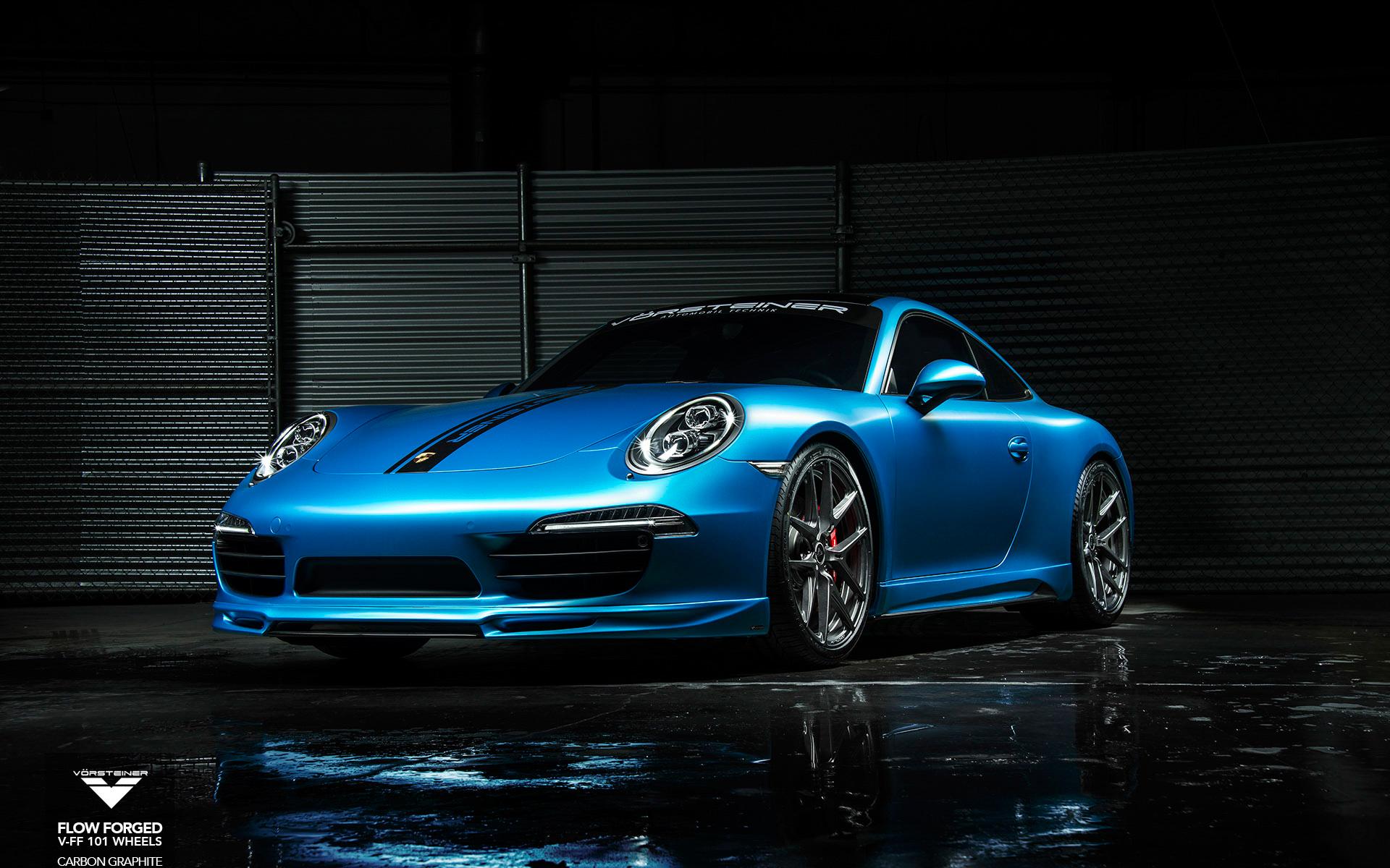 Vorsteiner Porsche 911 Carrera S V Ff 101 Wallpaper Hd Car Wallpapers Id 4994
