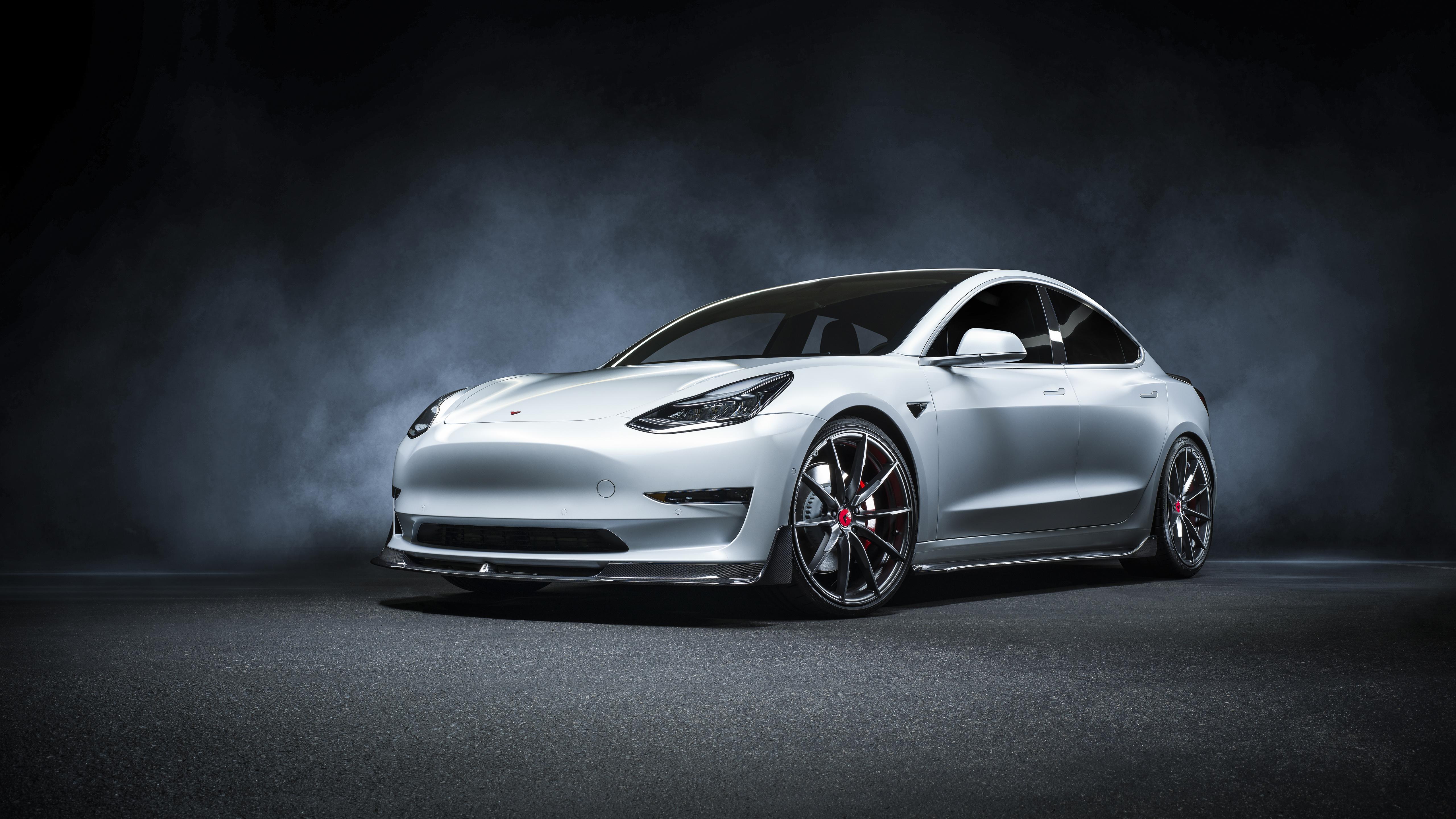 Vorsteiner Tesla Model 3 Volta 2019 4k Wallpaper Hd Car