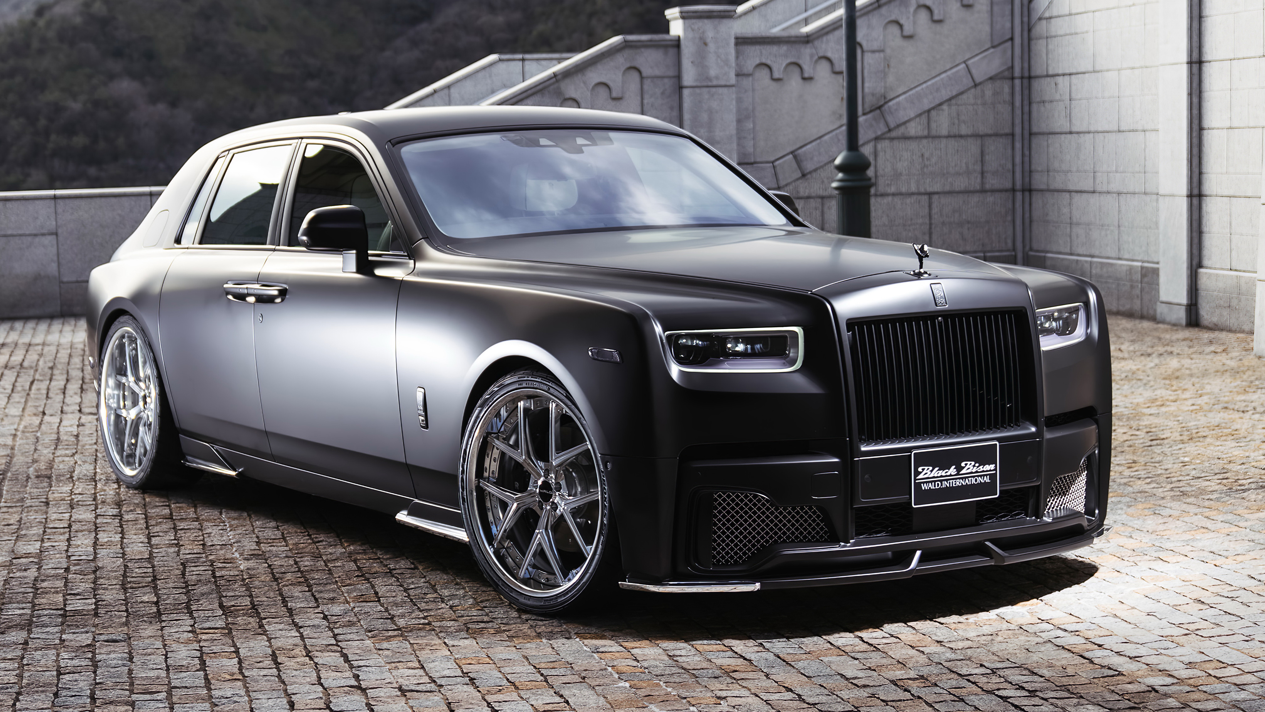 Wald Rolls Royce Phantom Sports Line Black Bison Edition 2019 4k 2 Wallpaper Hd Car Wallpapers Id 12671