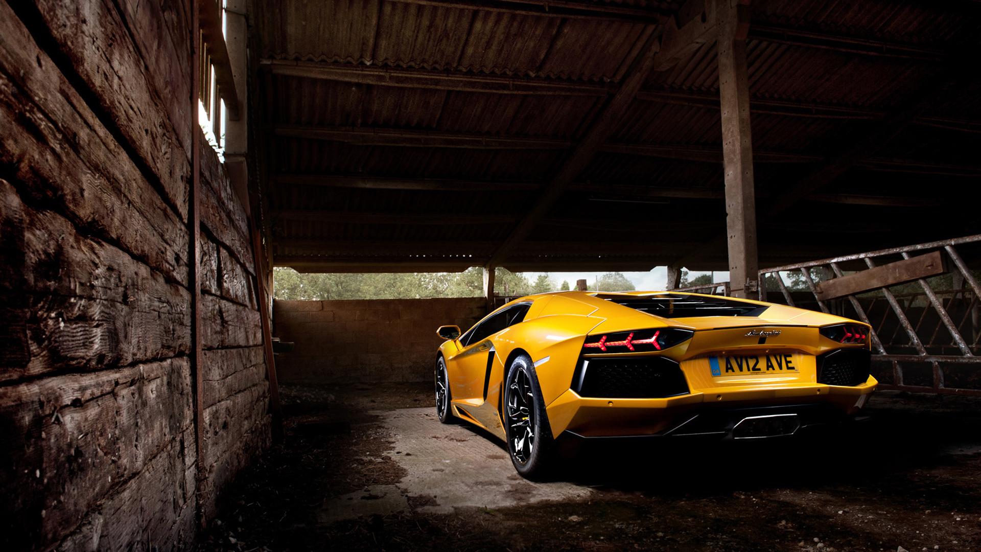 Yellow Lamborghini Aventador 2 Wallpaper Hd Car Wallpapers Id